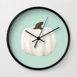 Knotty Pumpkin Wall Clock