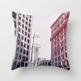 Tower Above Throw Pillow
