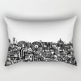 Disorganized Speech #2 Rectangular Pillow
