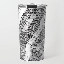 New York City Showing Manhattan, Brooklyn and New Jersey Travel Mug