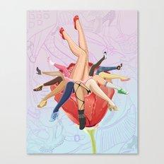 Shoe Love Canvas Print