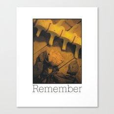 Remember Canvas Print