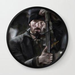 Hero in the Muck Wall Clock
