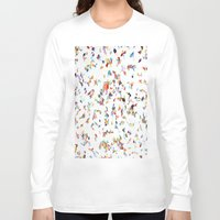 italian Long Sleeve T-shirts featuring Italian Vogue by Erick Stow