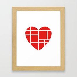 Finding Love I Framed Art Print