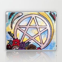 3d pentacle Laptop & iPad Skin