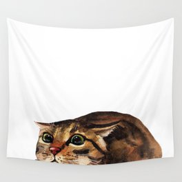 Funny Cat Wall Tapestry