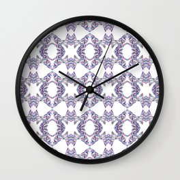 LINEA 007 Abstract Collage Wall Clock