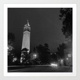 Sather Tower - Berkeley, CA Art Print