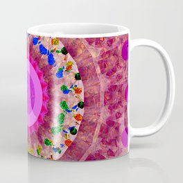 Flowers in Glass Two Coffee Mug
