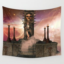 The  Totem place Wall Tapestry