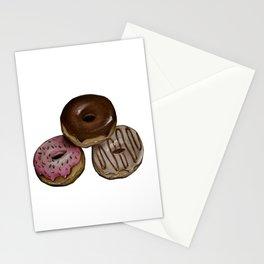 I Donut Care Stationery Cards