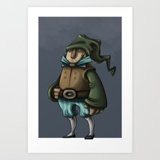 Dwarf Prince or Merchant Art Print