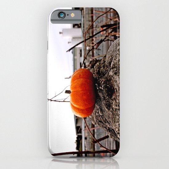 Urban grit pumpkin iPhone & iPod Case