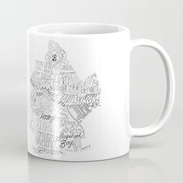 Brooklyn Illustration Coffee Mug