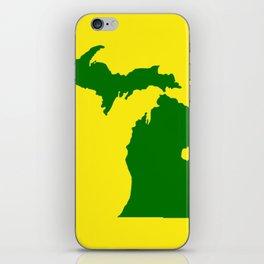 Michigan Football iPhone Skin
