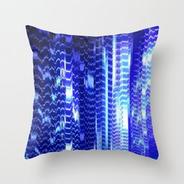 ventilation system disintegration Throw Pillow