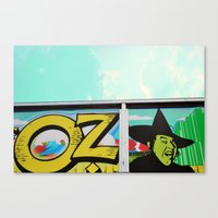 oz Canvas Prints featuring Oz by Bella Blue Photography