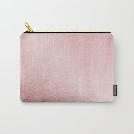 Simply Rose Gold Sunset Carry-All Pouch
