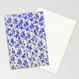 Blue disks Stationery Cards