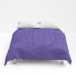 Violet Rainbow Comforters
