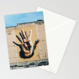 Streetart about diversity, Berlin, Germany - Travel photography Stationery Cards
