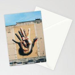 Streetart about diversity, Berlin, Germany - Travel photography Stationery Cards