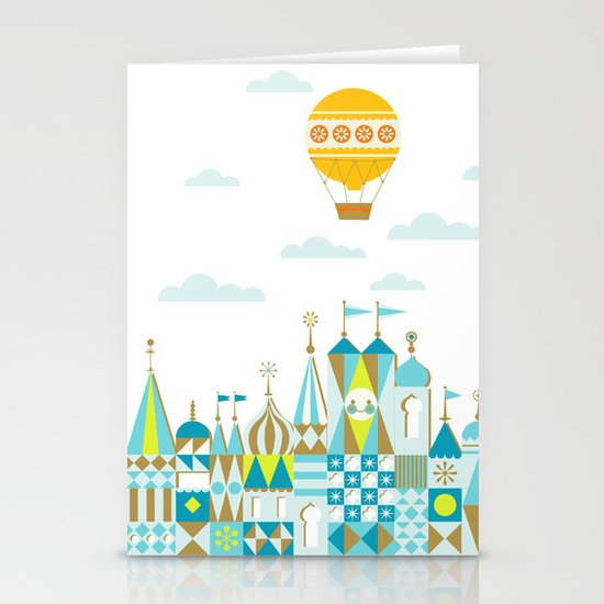 Small Magic white Stationery Cards