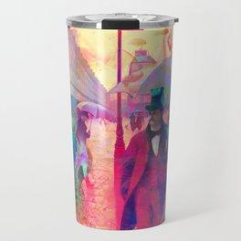 Watercolour Showers Travel Mug