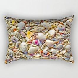 Seashells on the Shore Rectangular Pillow
