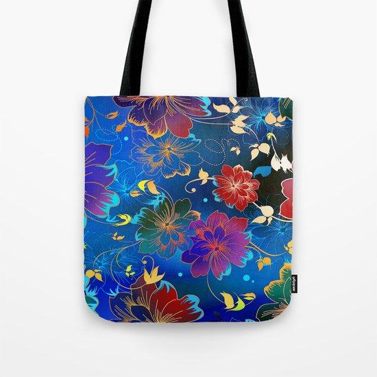 Floral Pattern 2 Tote Bag