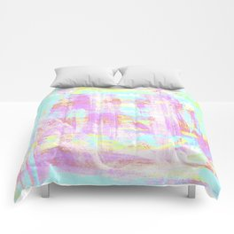 abstract pastell  Comforters