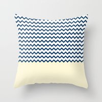 marine Throw Pillows featuring MARINE by JeremyG