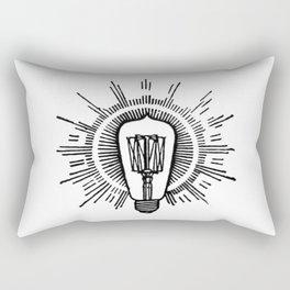 Lightbulb Rectangular Pillow