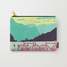 Bicycles on the lake Carry-All Pouch
