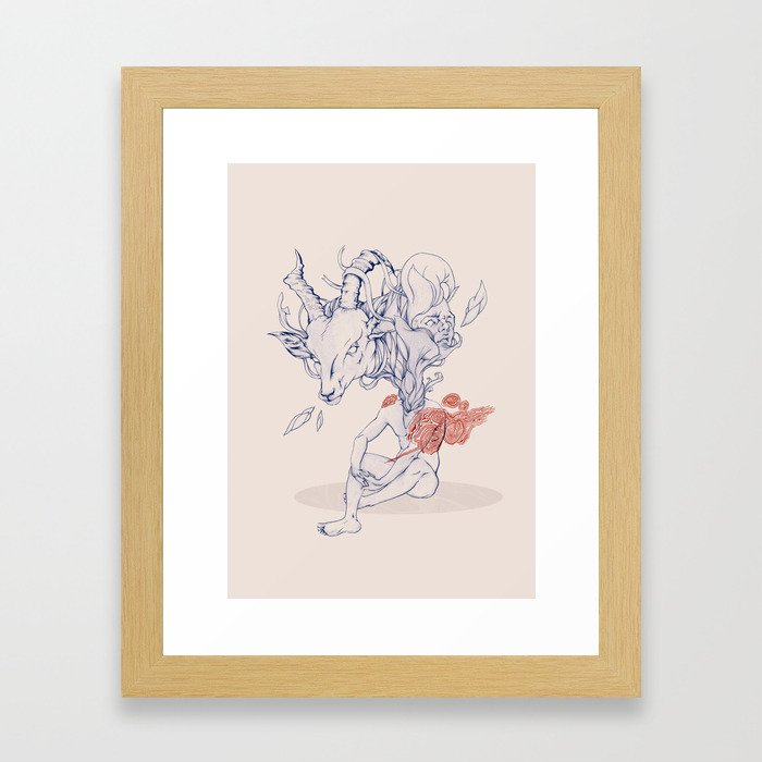 Ungulator Framed Art Print