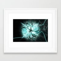 metal Framed Art Prints featuring Metal by Danbot
