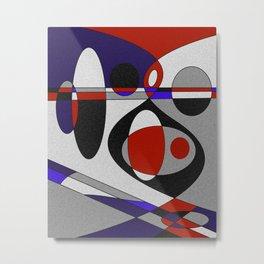 Abstract #93 Metal Print