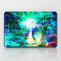 "hologram iPad Cases featuring "" The voice  is a second face"" by shiva camille"