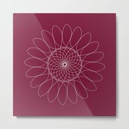 Ornament – FlowerChild Metal Print