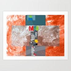 Persevering Graphic Designer Art Print