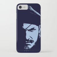 metal gear solid iPhone & iPod Cases featuring Big Boss (Snake / metal gear solid) by TxzDesign