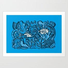 Encounter / Encuentros Art Print