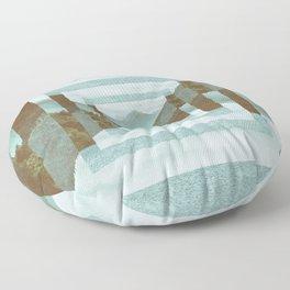 Abstract Landscape Floor Pillow
