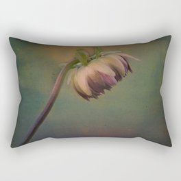 Once Upon a time a lonely flower Rectangular Pillow