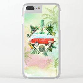 WOSWOS Clear iPhone Case