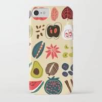 spice iPhone & iPod Cases featuring Fruit and Spice Rack by Picomodi