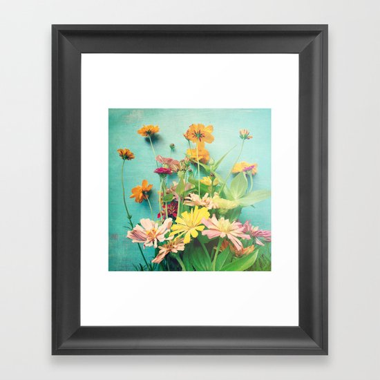 I Carry You With Me Into the World Framed Art Print