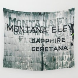 Ghosts of Montana Wall Tapestry