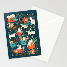 Spicy Kittens Stationery Cards